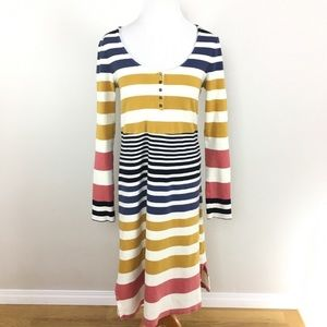 Anthro Saturday Sunday Riley Striped Dress